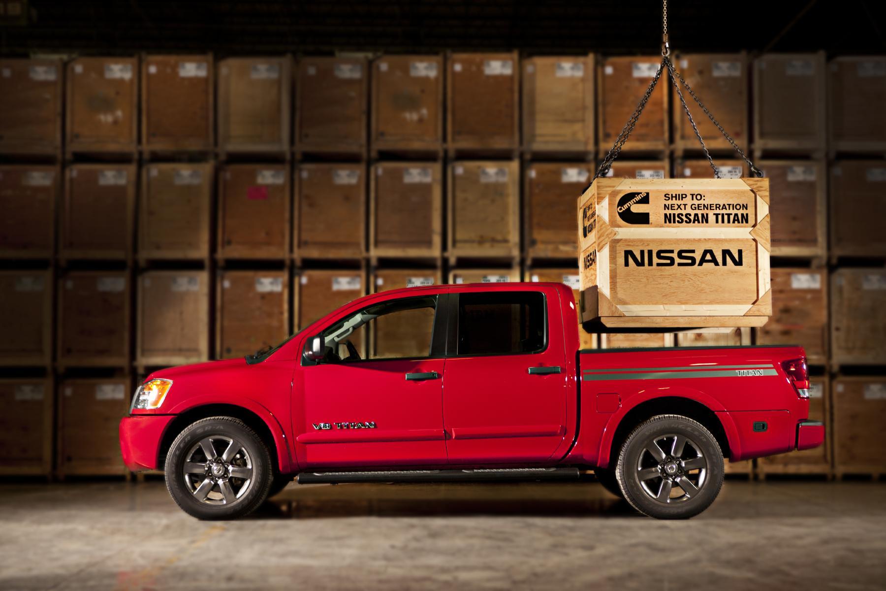 Next Nissan Titan To Gain Turbo Diesel V8 From Cummins