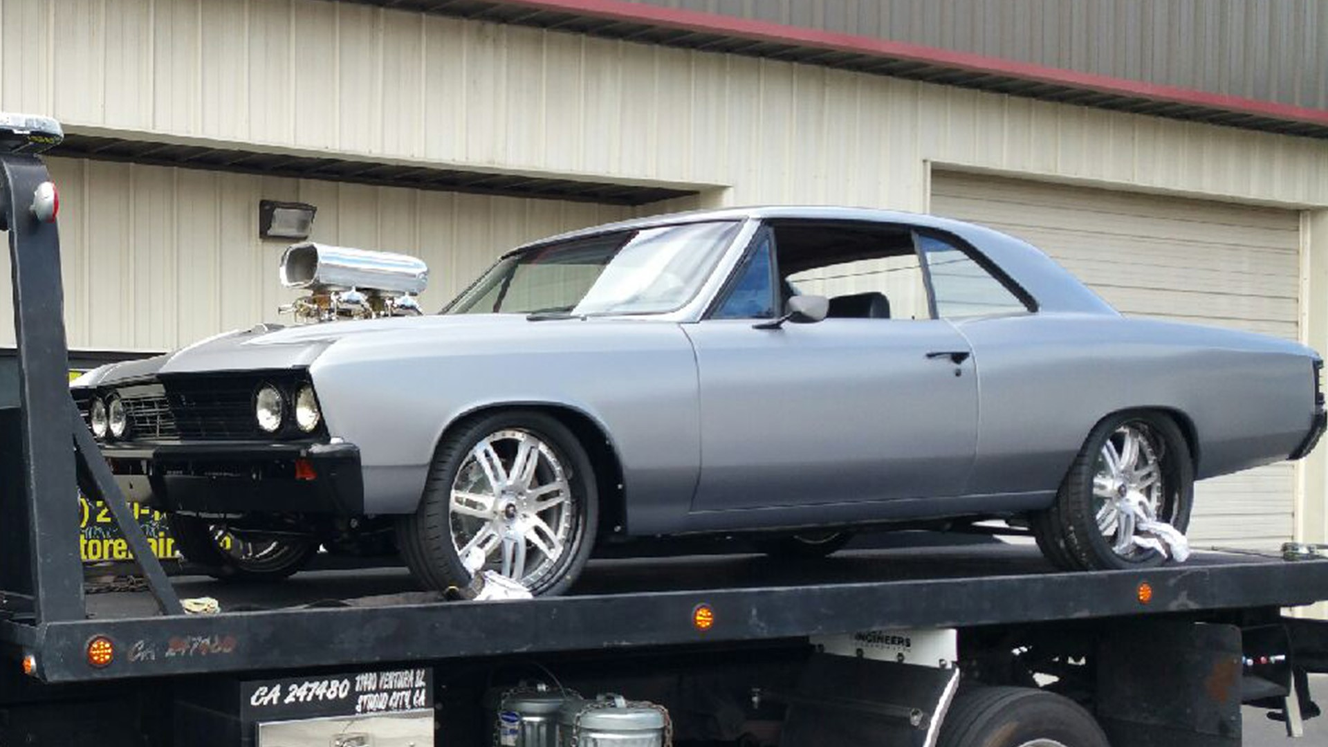 Nick Cannon Gets Upgrades For His 1967 Chevrolet Chevelle