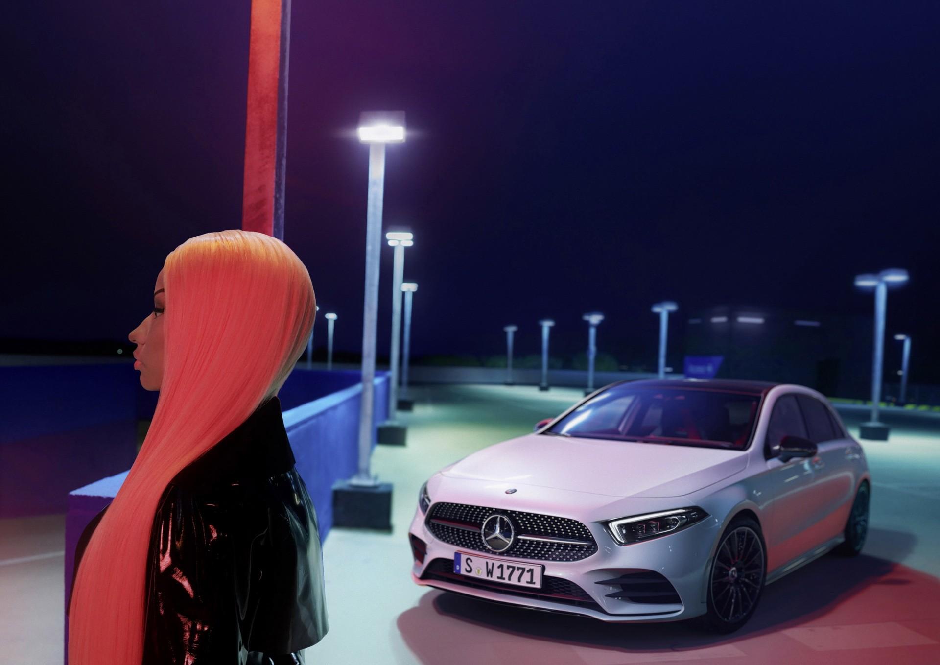 Nicki minaj stars in new mercedes benz a class commercial for New mercedes benz commercial