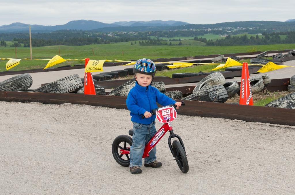 Hayden Family Donates Strider Bikes to Pitino Shelter ...