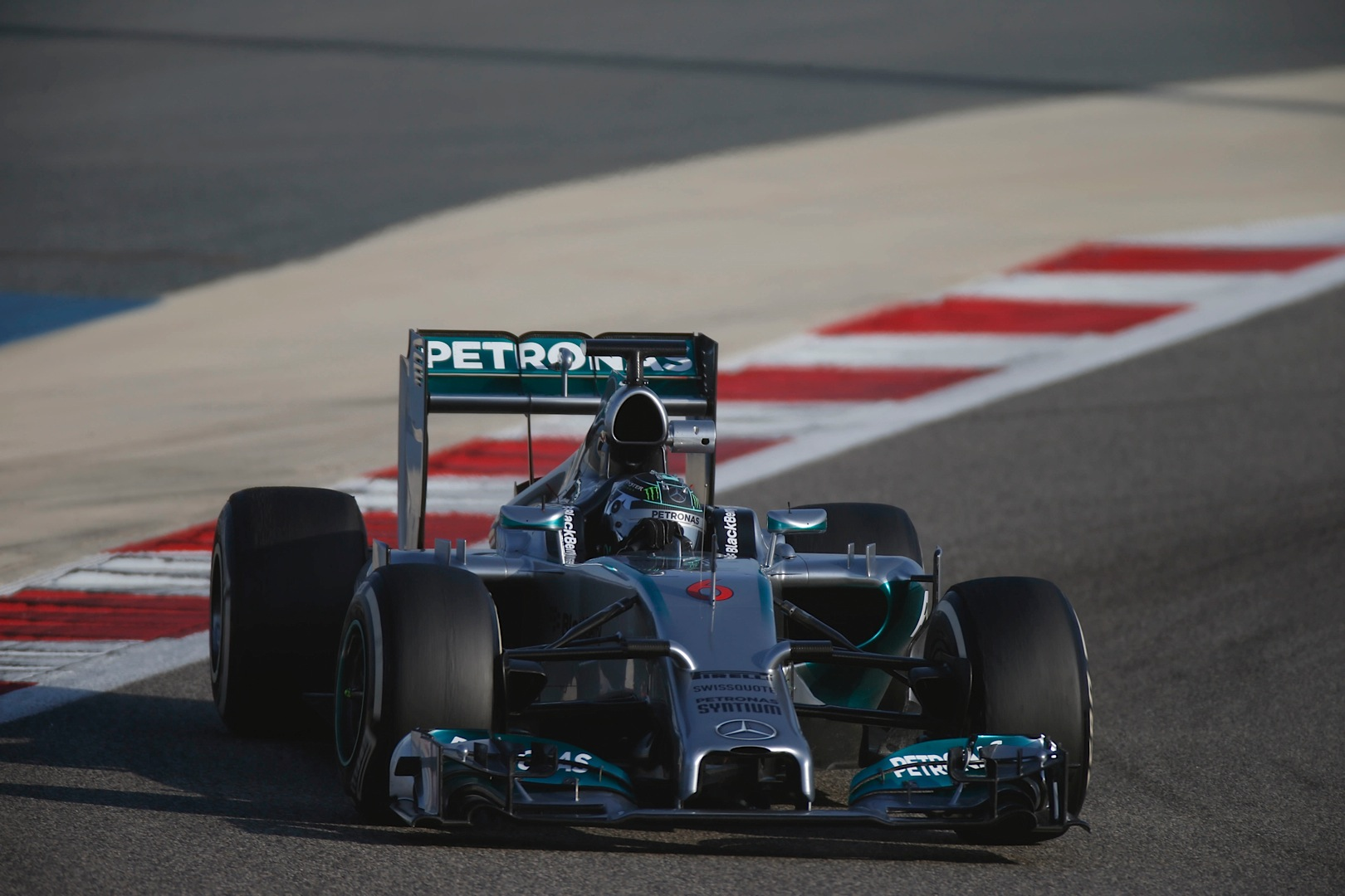 nico rosberg tops all bahrain time sheets in final testing day