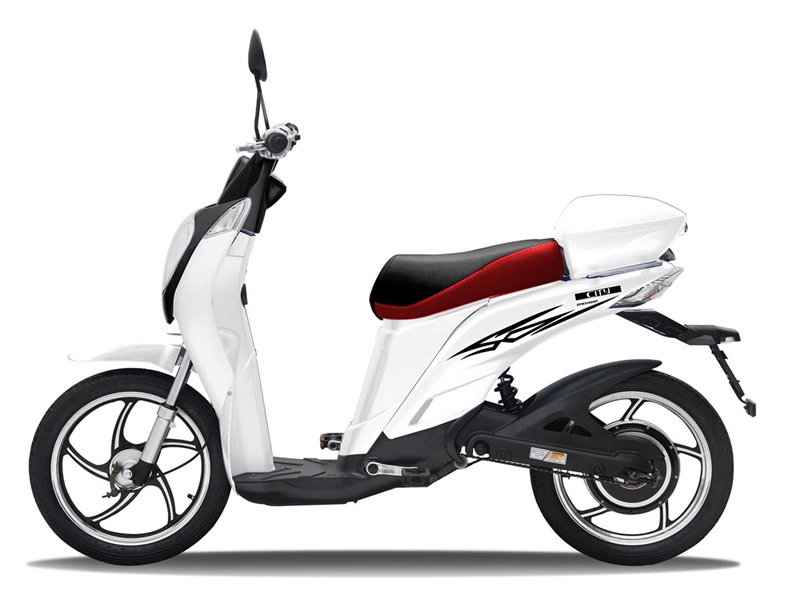 Nimoto City 350 Electric Scooters As Cheap As They Get Autoevolution