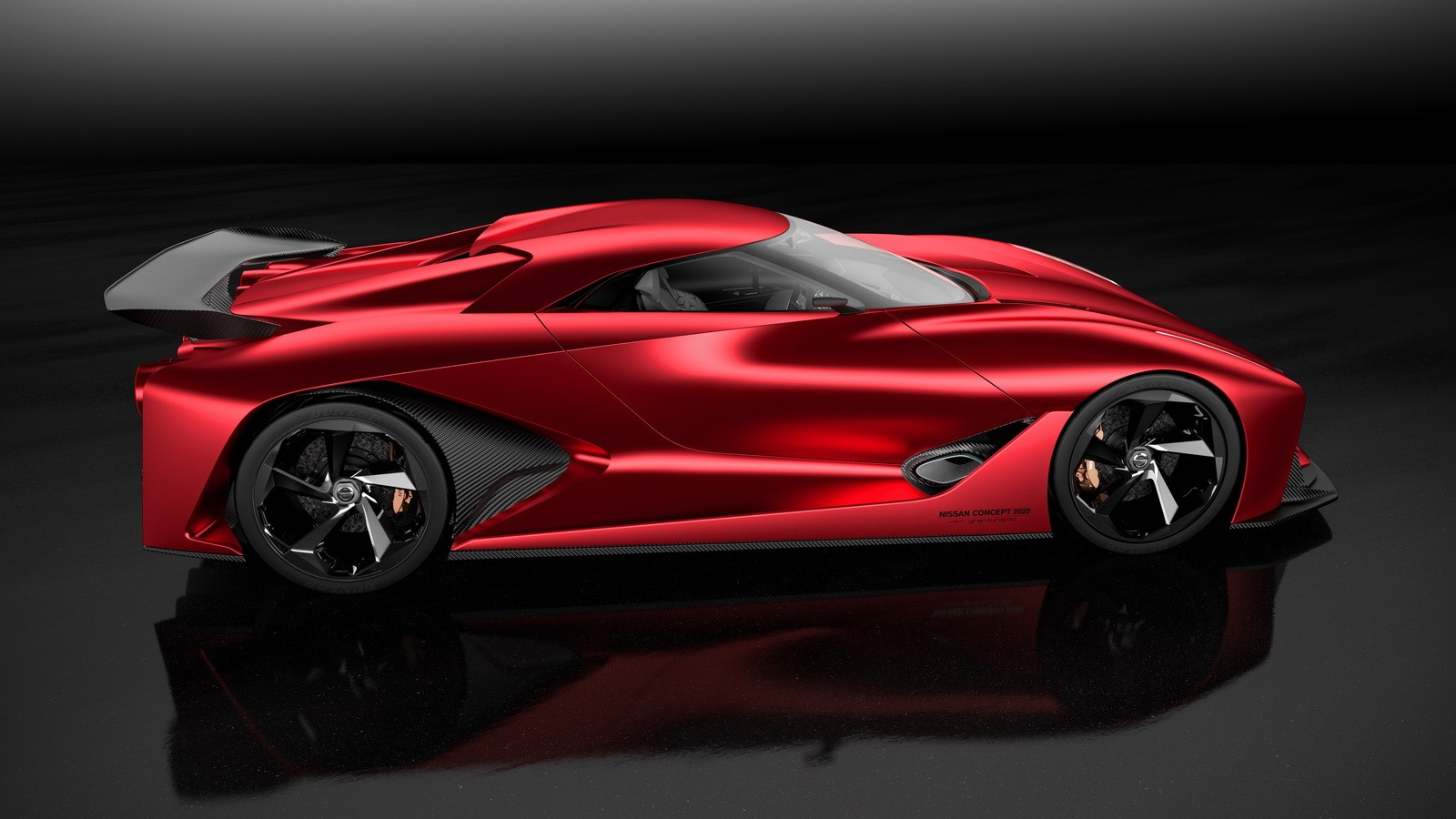 nissan 2020 vision gran turismo turns  u0026quot fire knight u0026quot  red for tokyo motor show
