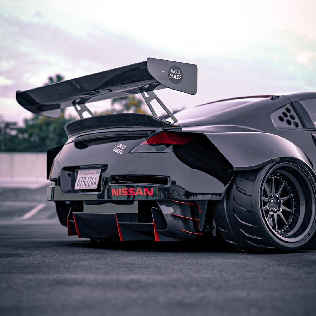 """Nissan 350Z """"Time Attack"""" Rendering Is the Widest Ever ..."""