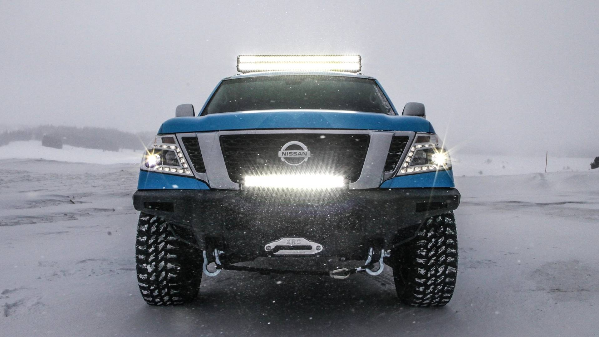 Lifted Nissan Titan >> Nissan Armada Snow Patrol Has Nothing To Do With The Band ...