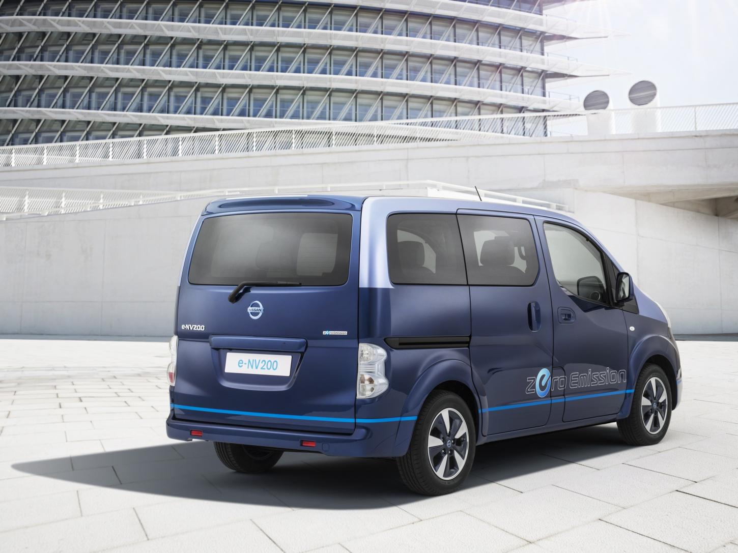 Nissan E Nv200 Upgraded For Vip Shuttle Services