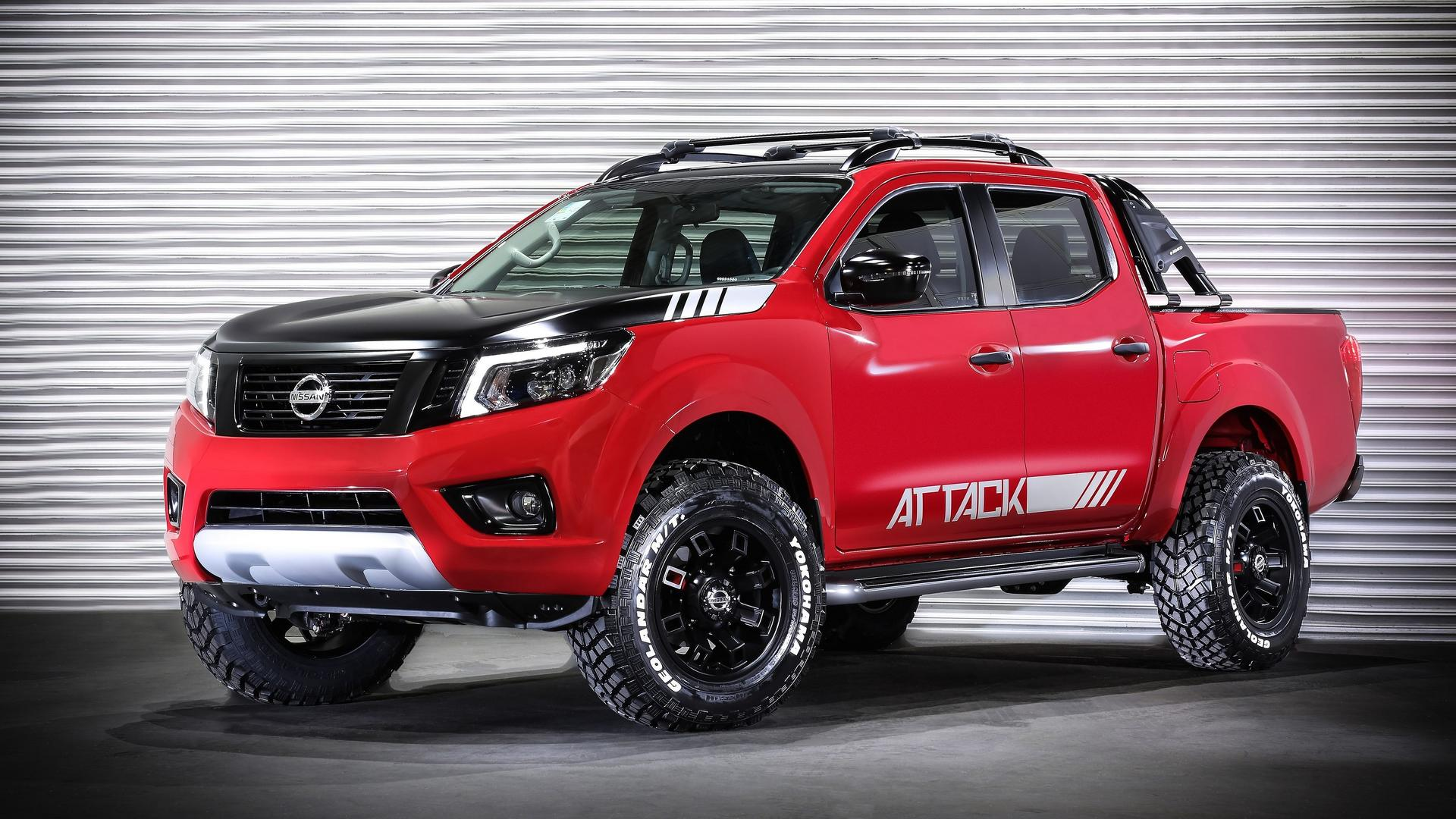 Nissan Frontier Gets The Attack Concept Treatment In Latin ...