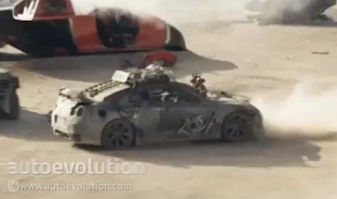Nissan Gt R 2154 Bugatti Spaceship Star In Elysium Movie
