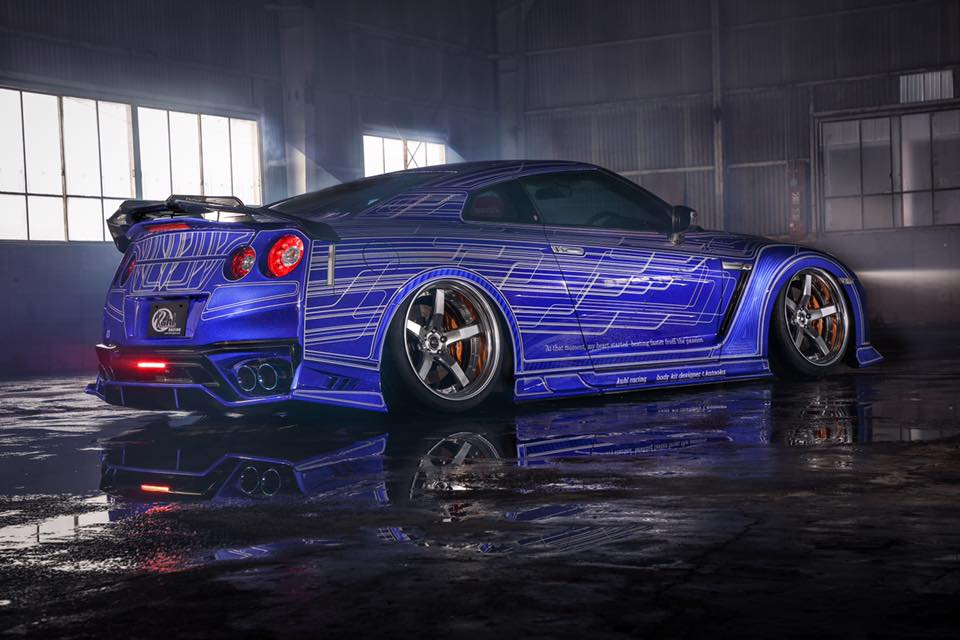 Nissan Gtr R36 >> Nissan GT-R Drift Car with Exposed Rear-Mounted Turbos Rendered, Should Happen - autoevolution