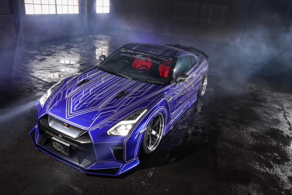Nissan Gt R By Kuhl Racing Looks Like A Tron Car