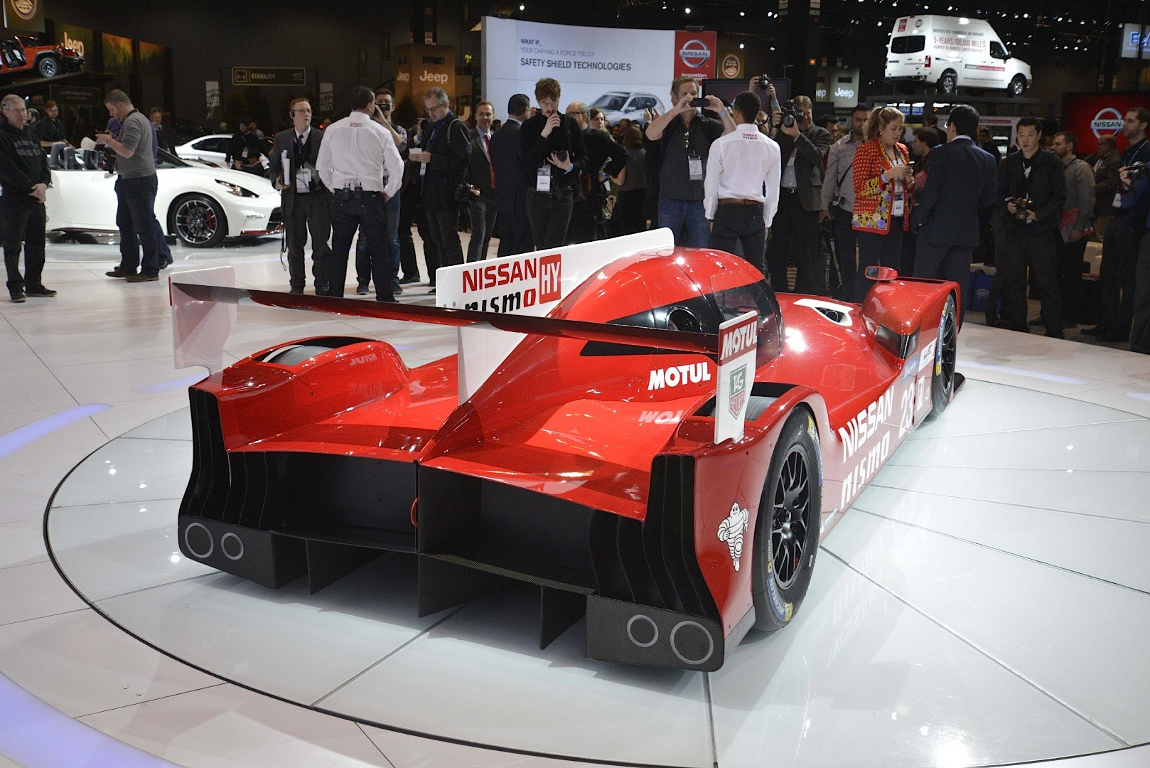 Nissan Gt R Lm Nismo Sends 1 250 Hp To The Front Wheels In