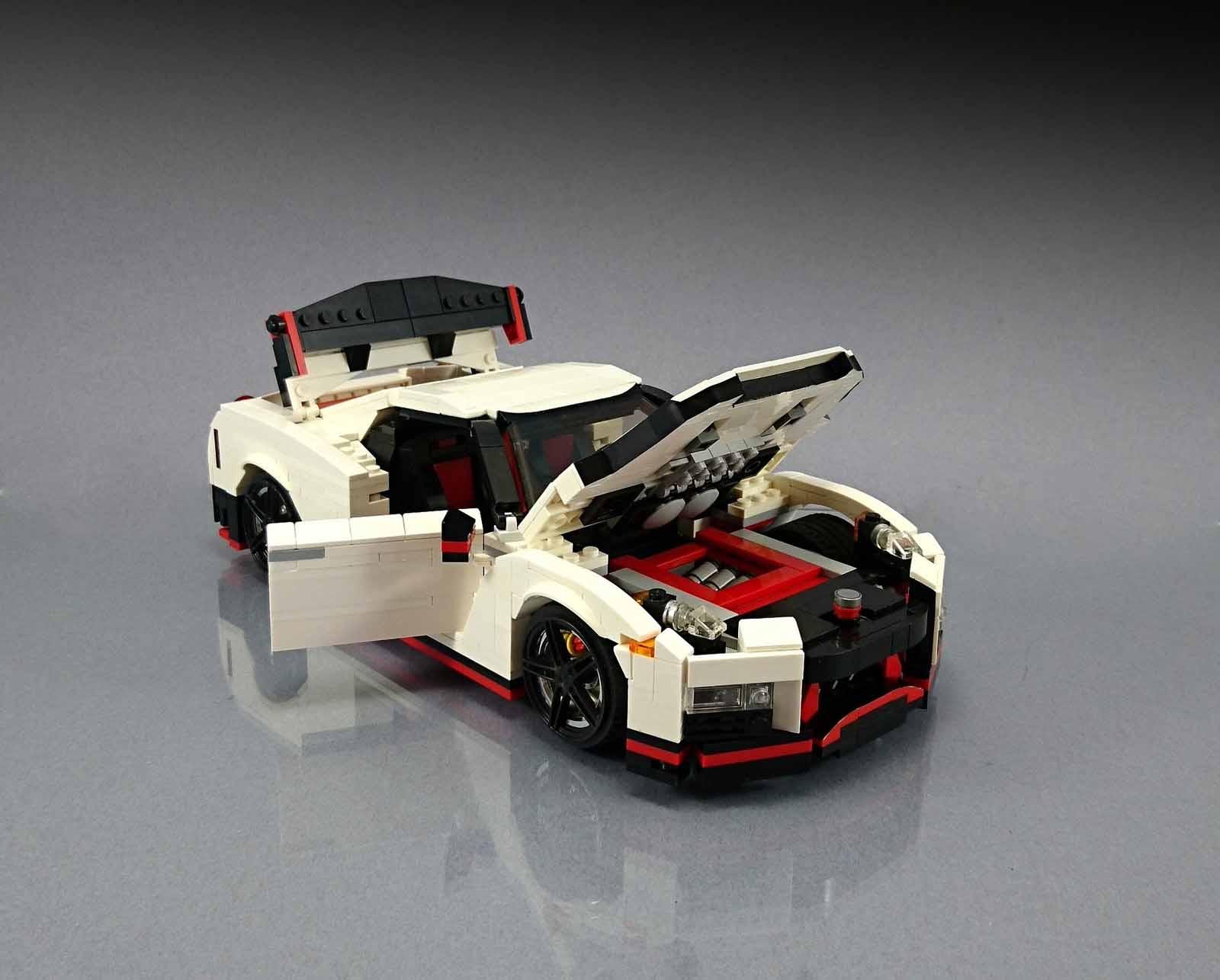 Nissan Gt R Nismo Fan Made Lego Replica Is The Blocky