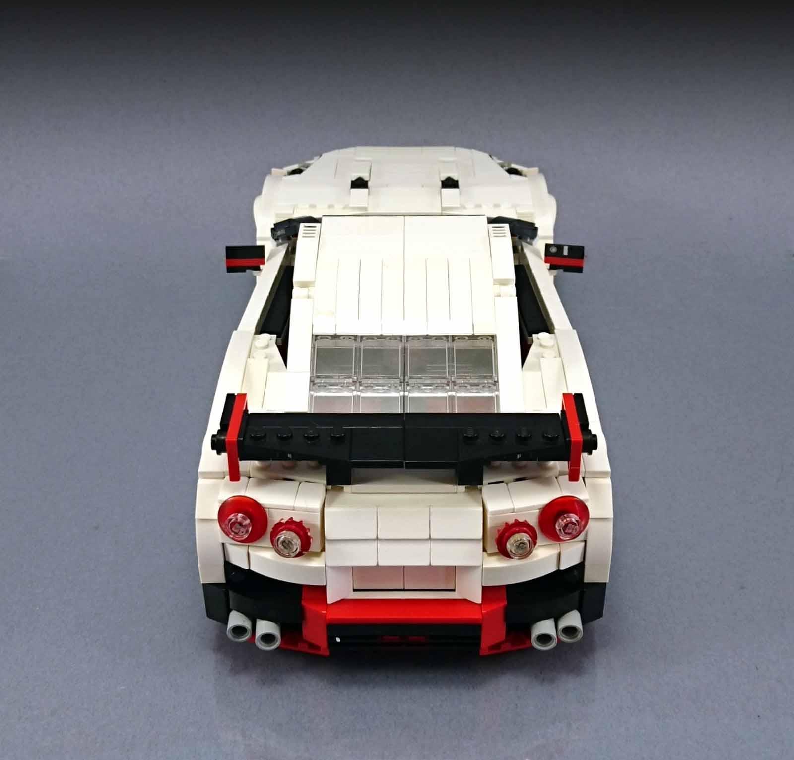 2017 Nissan Gt R Nismo >> Nissan GT-R Nismo Fan-Made Lego Replica Is the Blocky Godzilla You Wish You Had - autoevolution
