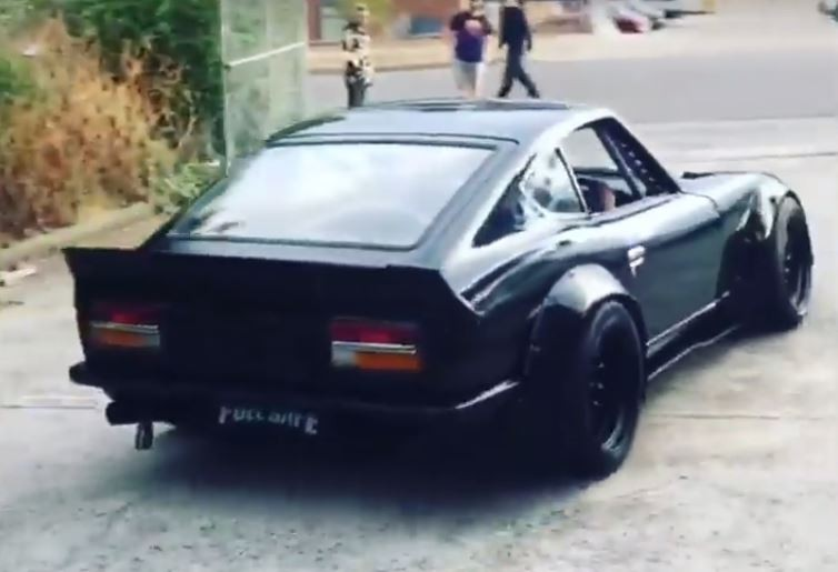 R35 Nissan Gt R Engined 240z Is A Drifter S Dream