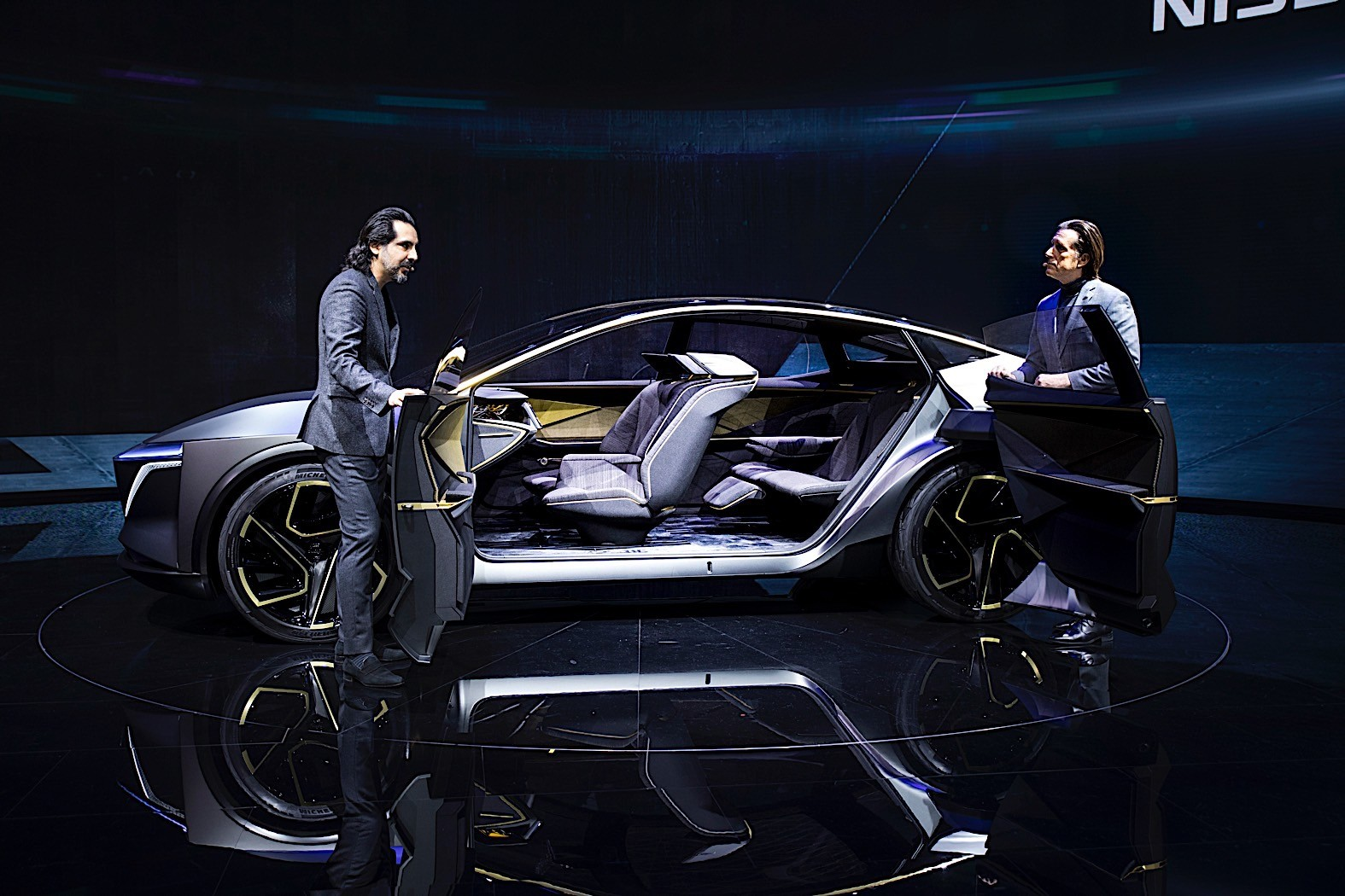 Nissan IMs Concept Lands in Detroit with Exciting New Seating Configuration - autoevolution