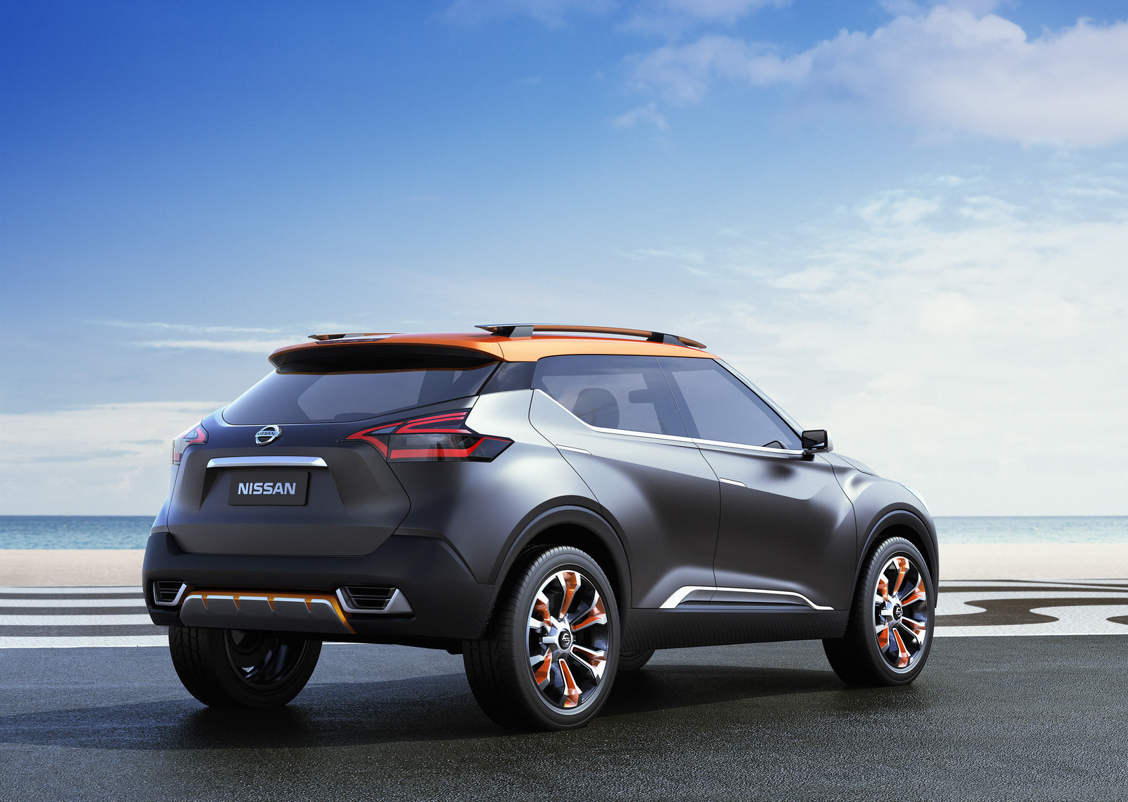 nissan kicks suv to debut in 2016 as the official car of the olympics in rio de janeiro