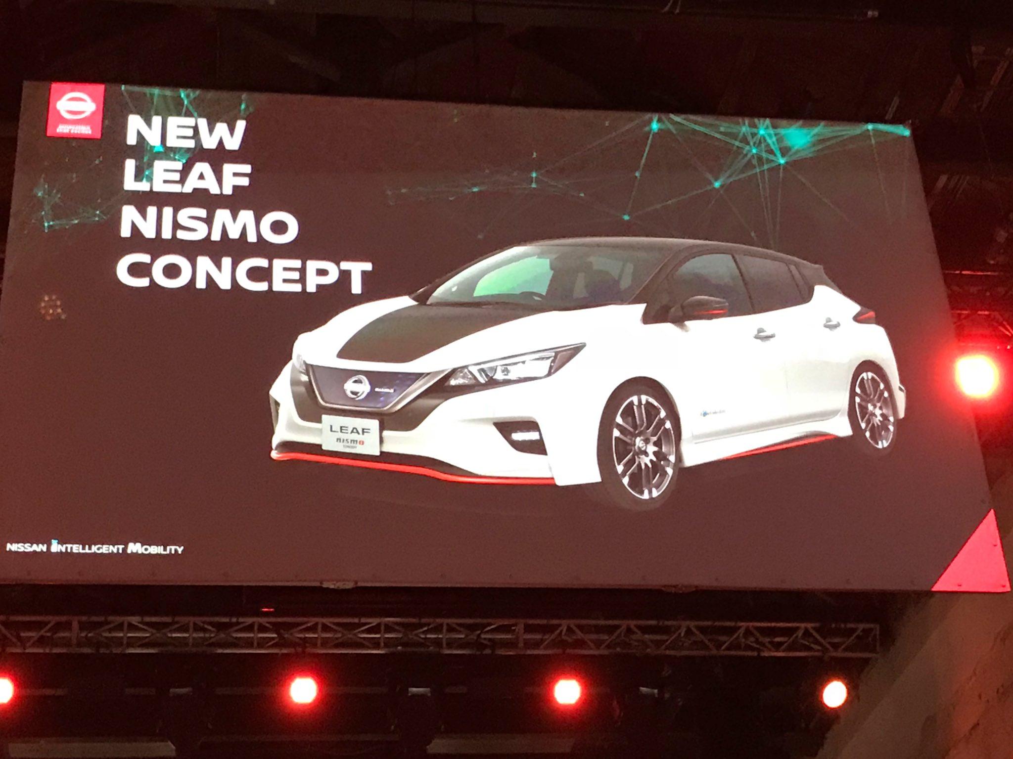 Nissan Leaf NISMO Concept Confirmed For 2017 Tokyo Motor ...