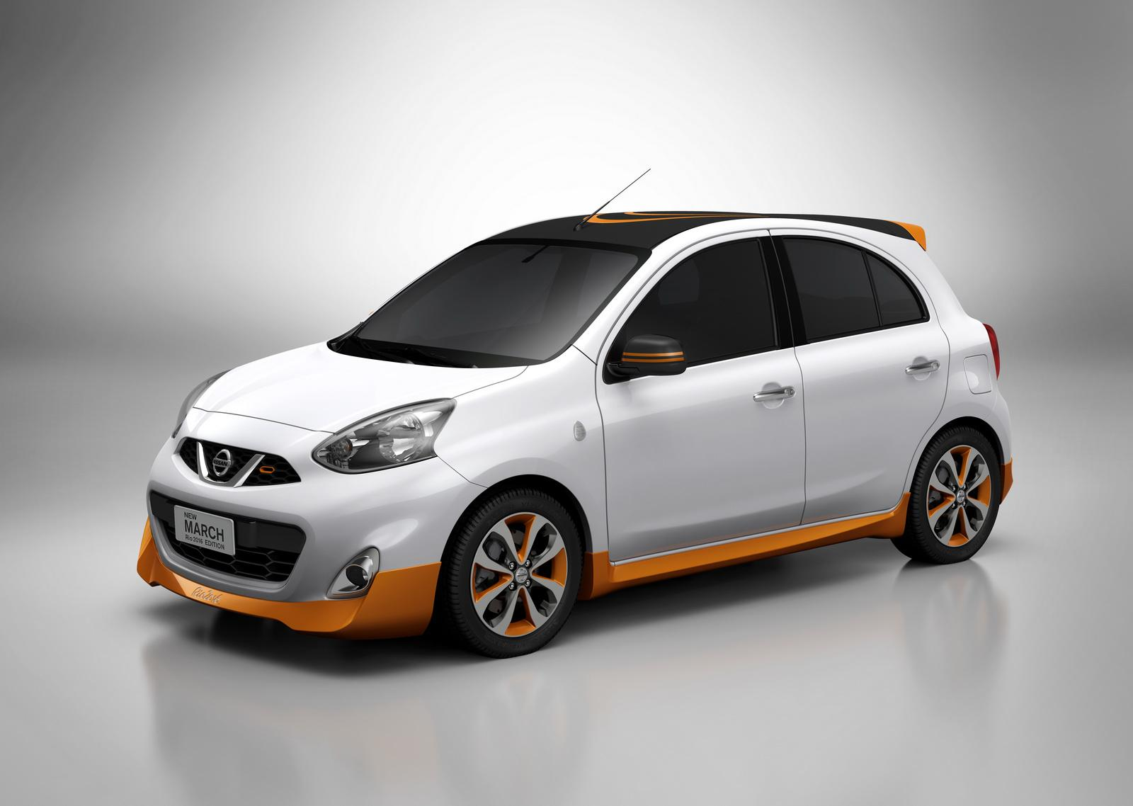 Nissan March Rio 2016 Edition Is a Micra with a Gold Body ...