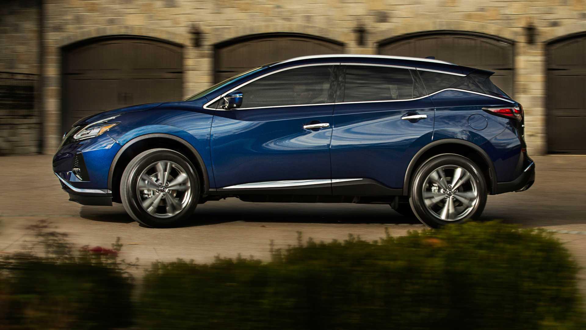 Nissan Murano Facelift Debuts At 2018 Los Angeles Auto ...