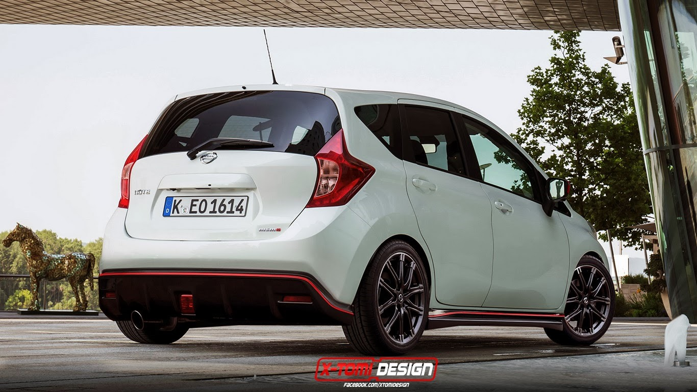 Nissan Note Nismo Rendering - autoevolution