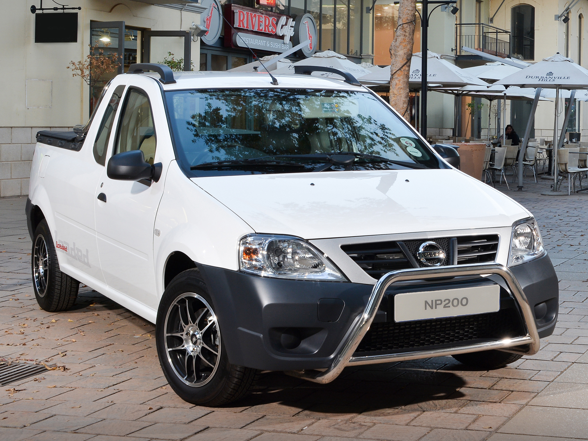 nissan np200 is a dacia logan pick up in south africa. Black Bedroom Furniture Sets. Home Design Ideas