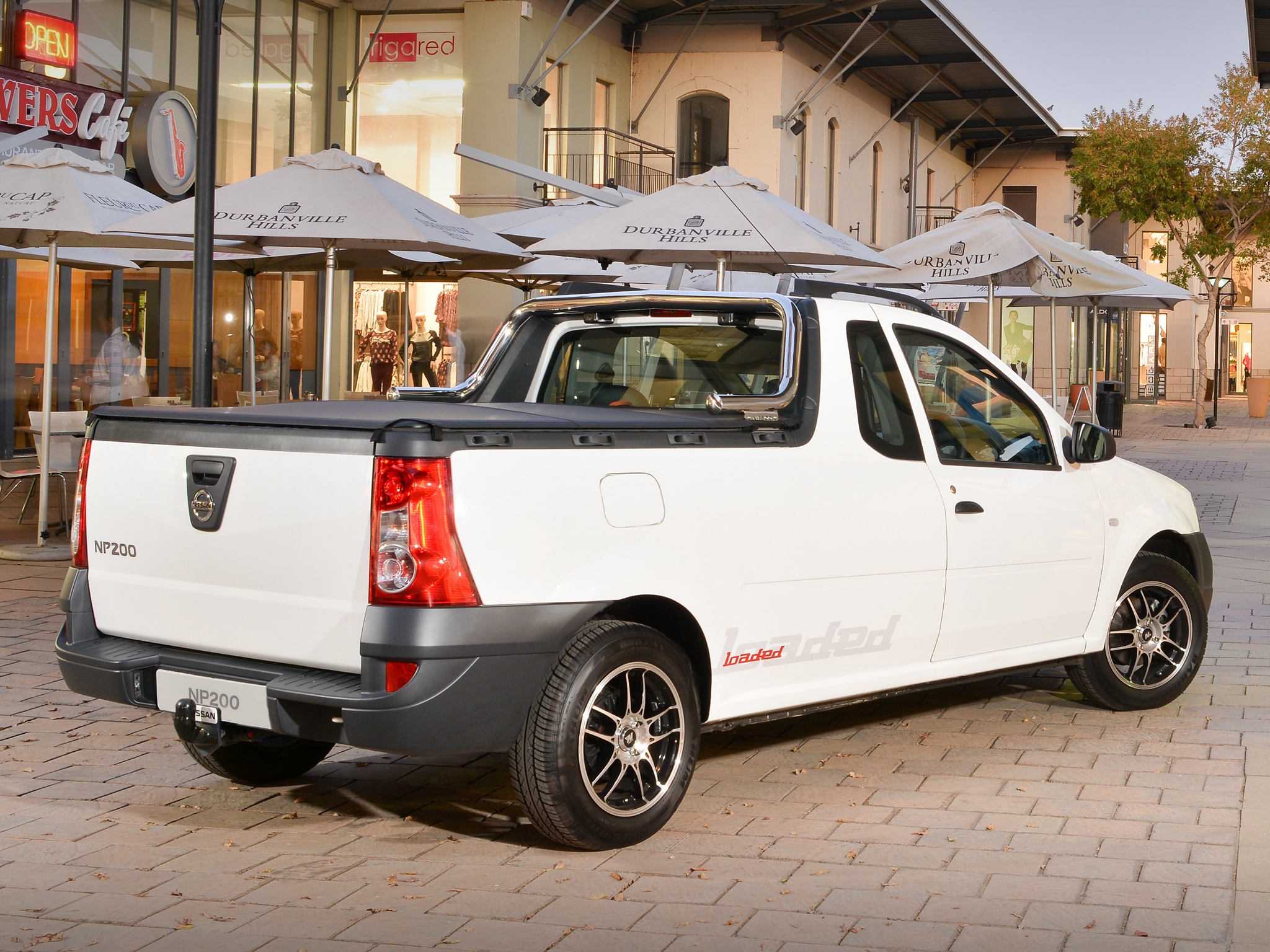 2015 Chevrolet Silverado 1500 Double Cab >> Nissan NP200 Is a Dacia Logan Pick-Up in South Africa ...