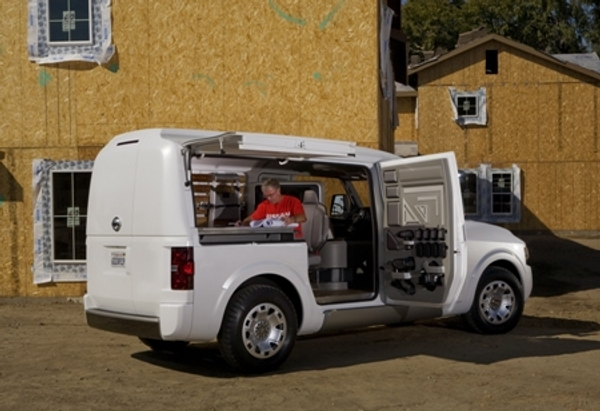 Nissan Nv2500 Concept Debuts At The 2009 Work Truck Show