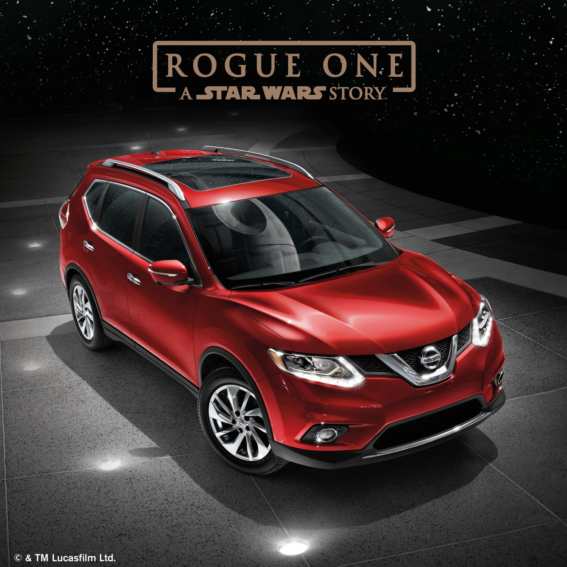 Nissan Joins Marketing Campaign For Star Wars Rogue One
