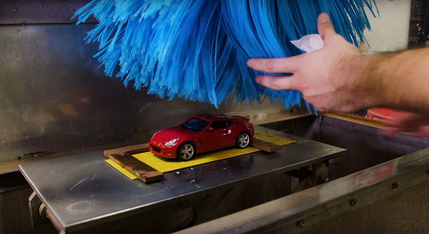Nissan S Miniature Car Wash Is A Dollhouse For Boys