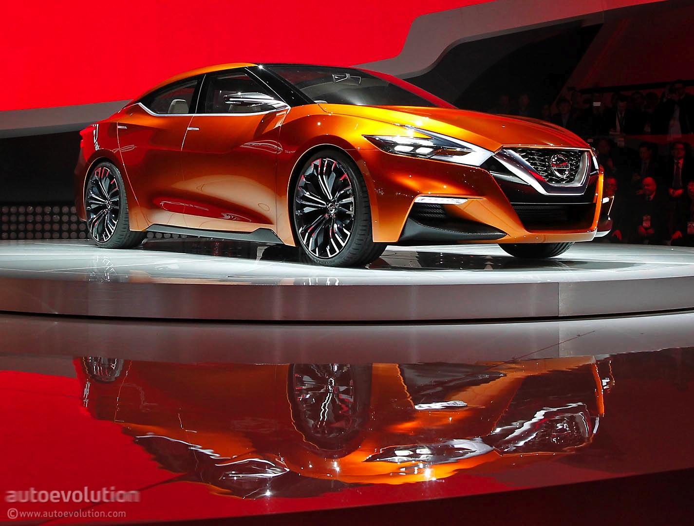 Nissan Sport Sedan Concept Previews the 2016 Maxima [Live ...
