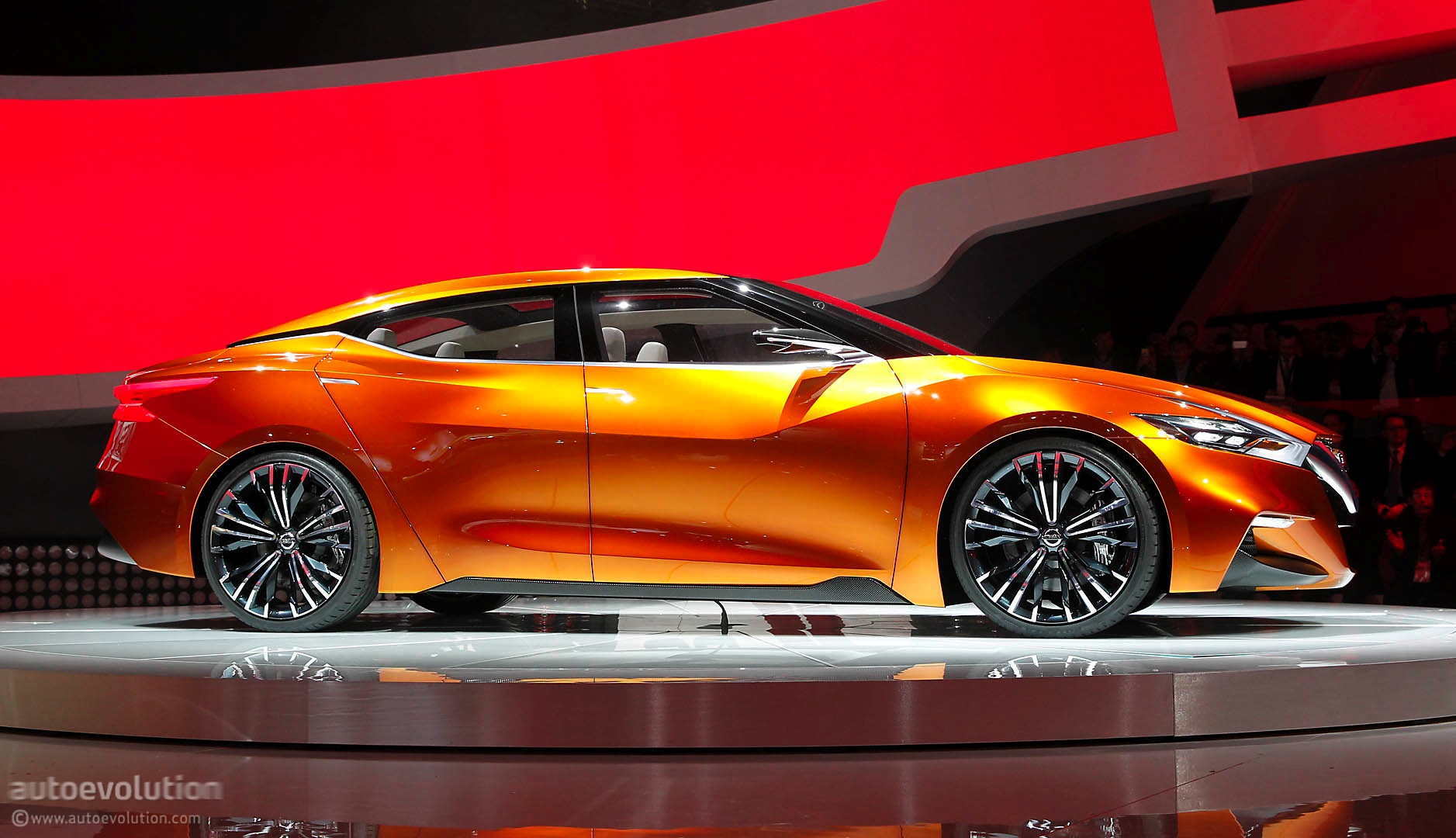 Nissan Sport Sedan Concept Previews The Maxima Live Photos