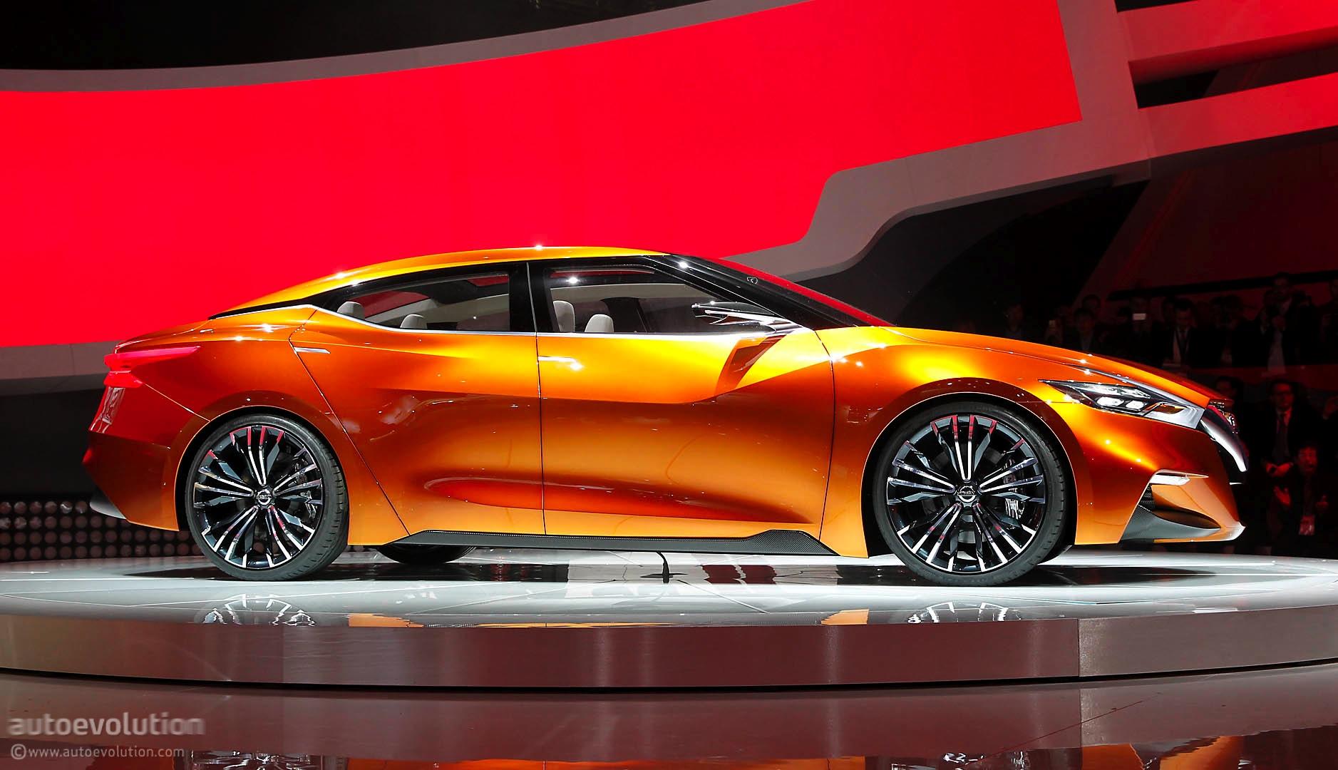 Nissan Sport Sedan Concept Previews The 2016 Maxima Live