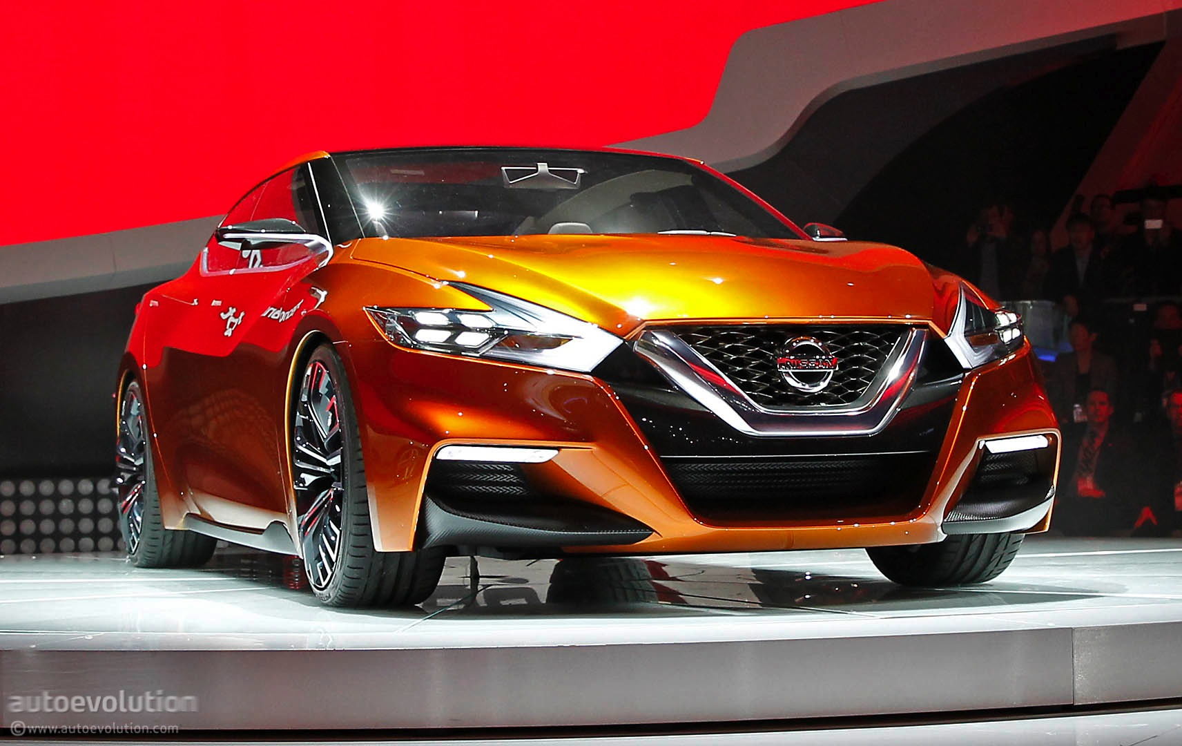 Mustang Concept >> Nissan Sport Sedan Concept Previews the 2016 Maxima [Live Photos] - autoevolution