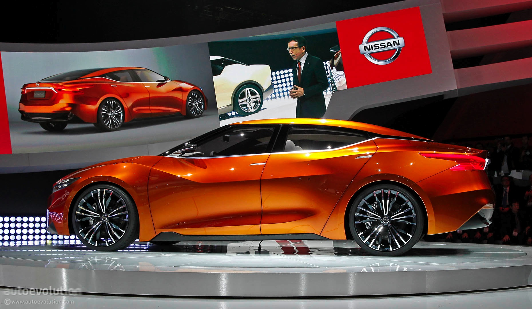 Nissan Sport Sedan Concept Previews the 2016 Maxima [Live ...