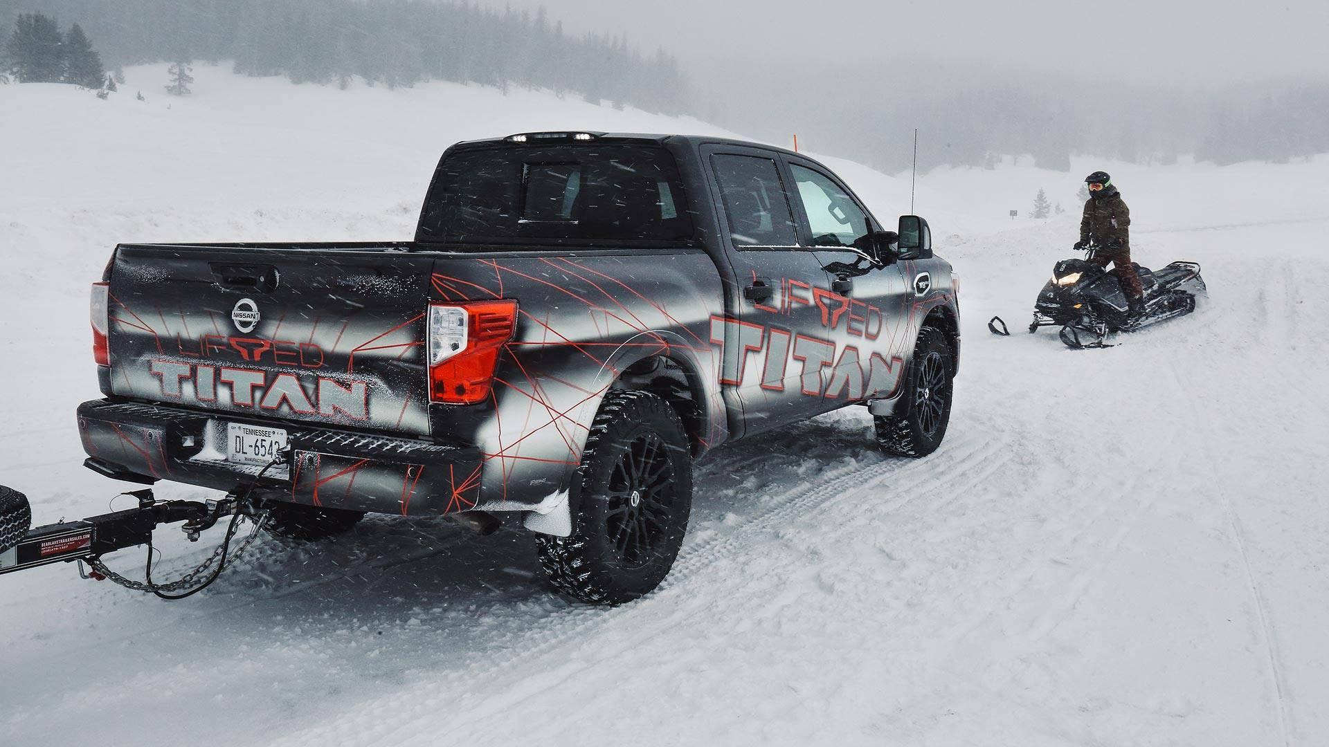 "Nissan 370z 2019 >> Nissan Titan And Titan XD Get 3"" Lift Kit - autoevolution"