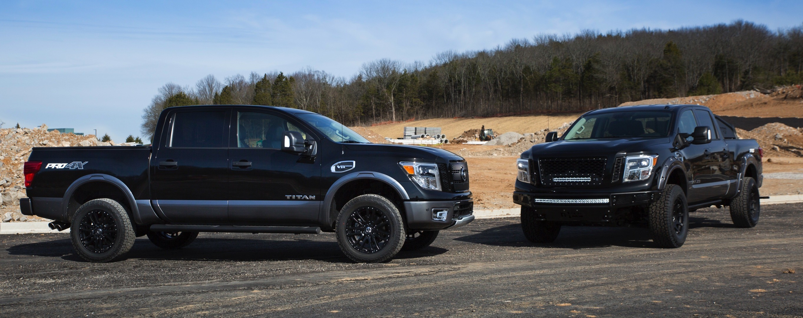 Nissan Showcases Titan Pro-4X and Titan XD With Off-Road ...