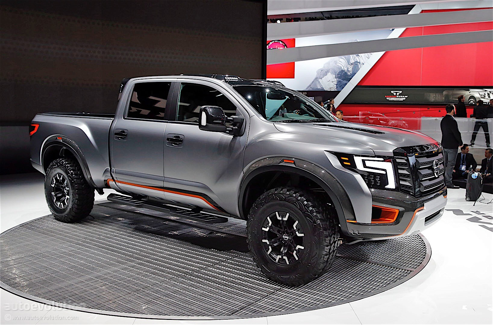 Nissan Titan Warrior Concept Debuts in Detroit with Loads ...