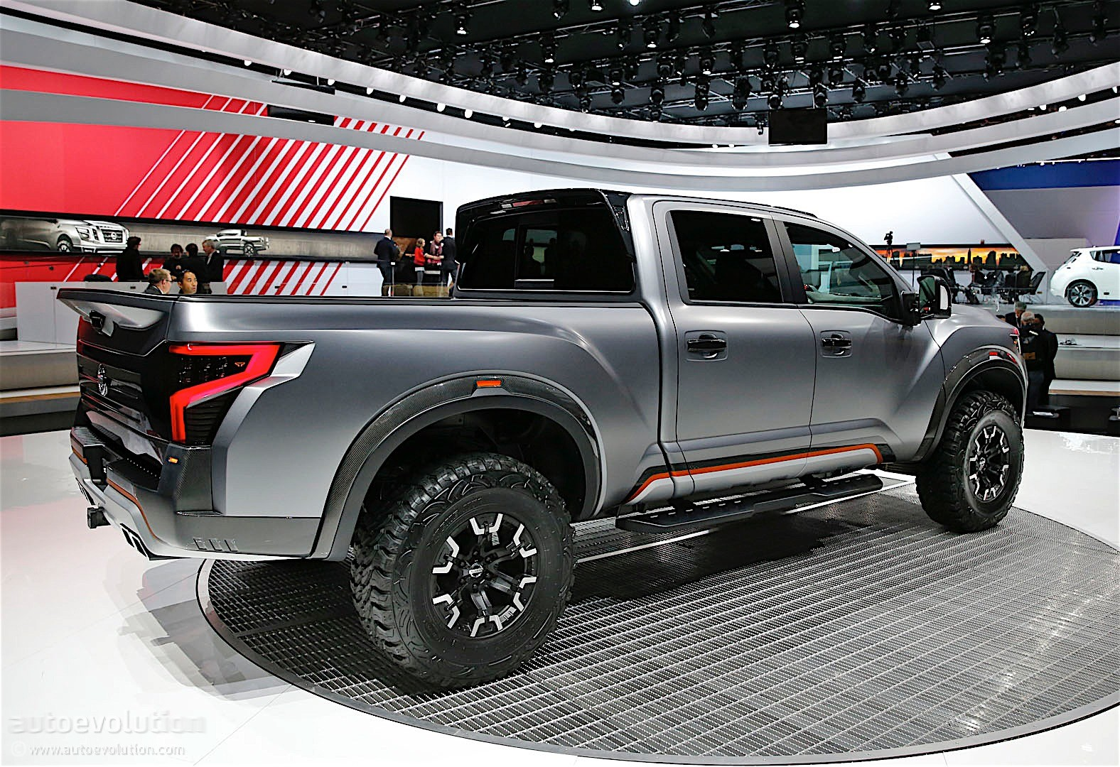 Wonderful Nissan Titan Warrior Concept Debuts In Detroit With Loads