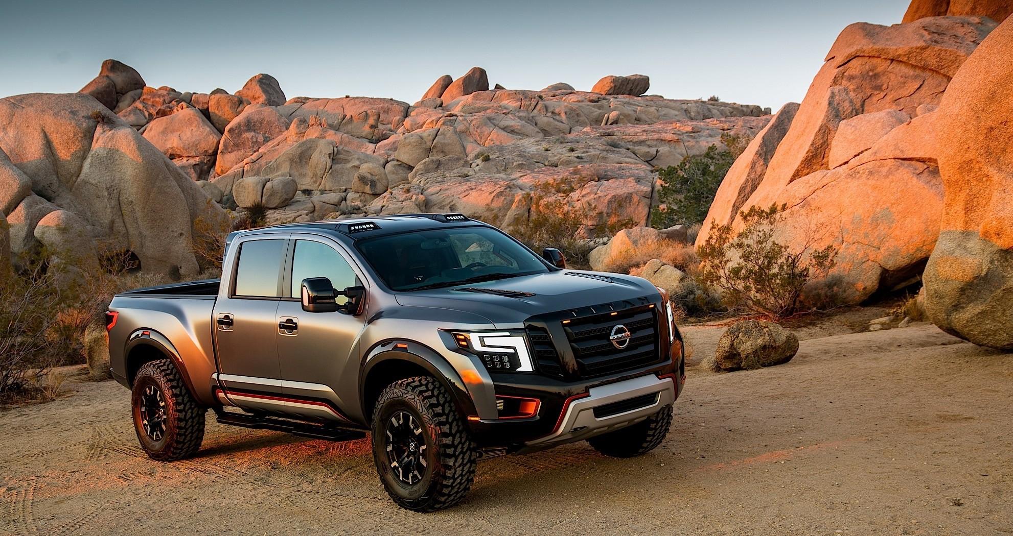 Nissan Titan Warrior Concept Unleashed at Detroit Auto ...