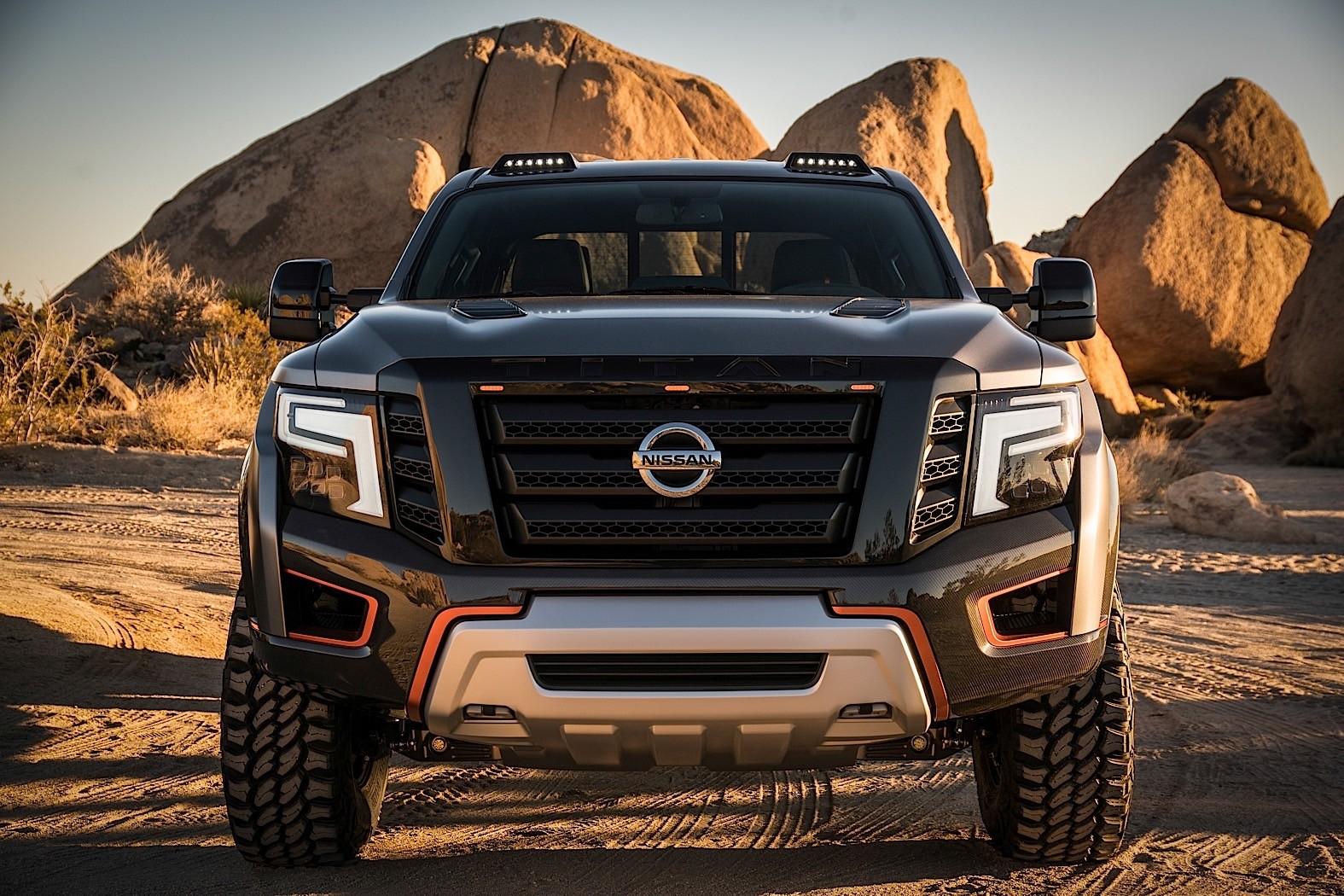 New Nissan Titan >> Nissan Titan Warrior Concept Unleashed at Detroit Auto Show - autoevolution