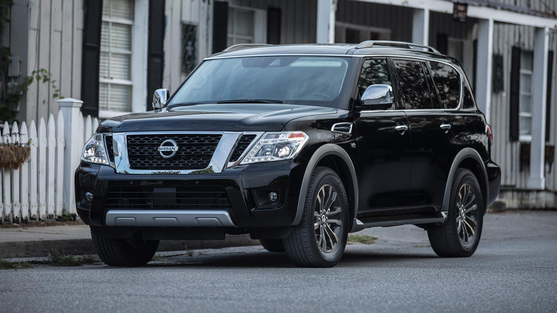 2018 Nissan Armada Gets Pimped With More Technology ...