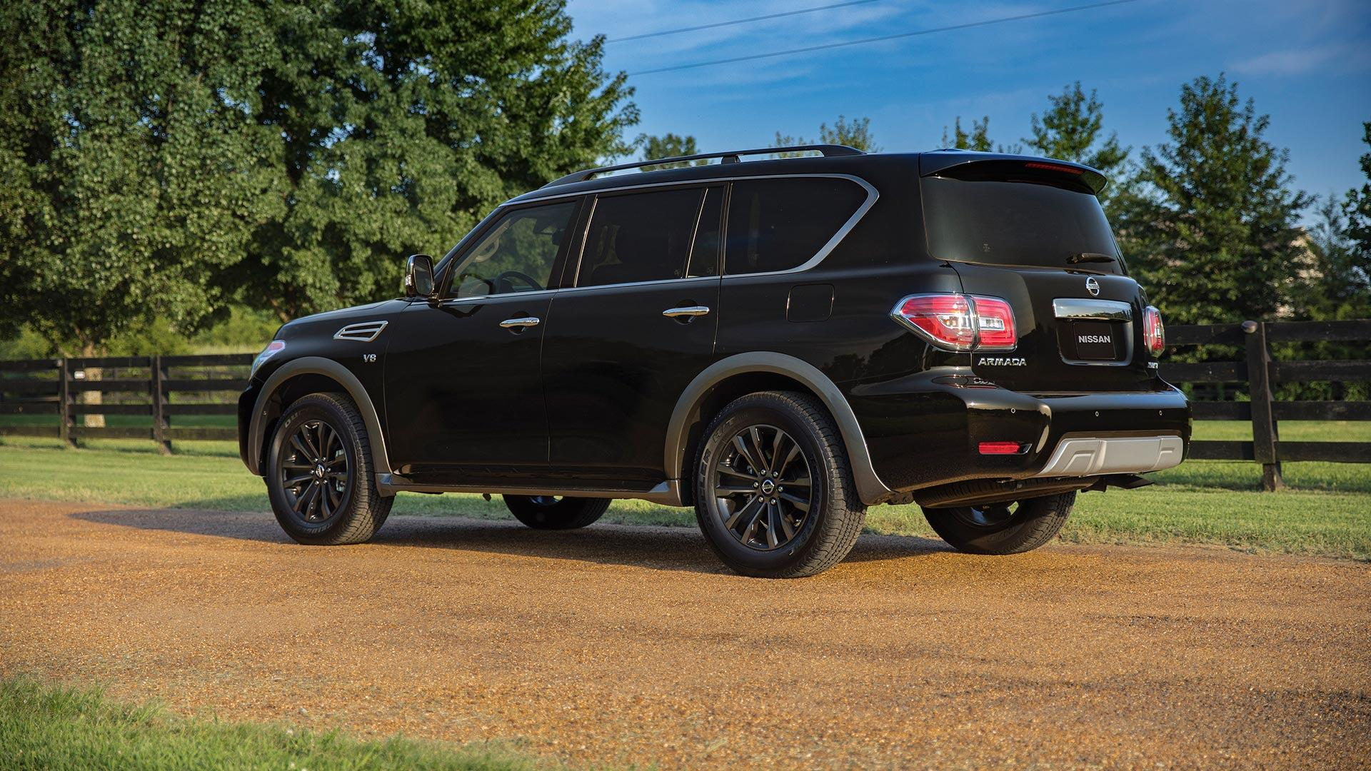 2018 nissan armada gets pimped with more technology autoevolution. Black Bedroom Furniture Sets. Home Design Ideas