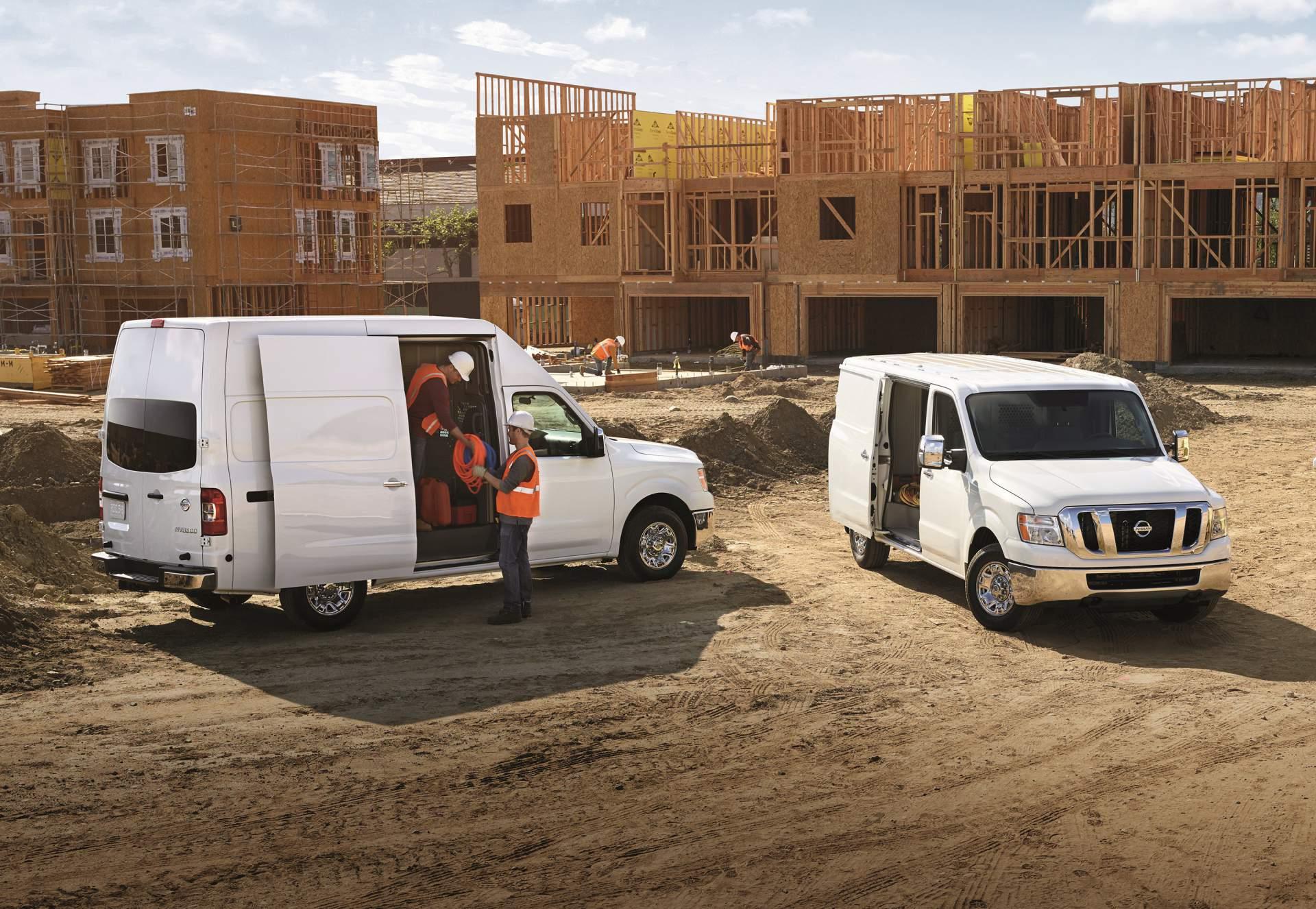nissan upgrades nv cargo van passenger van for 2019 model. Black Bedroom Furniture Sets. Home Design Ideas