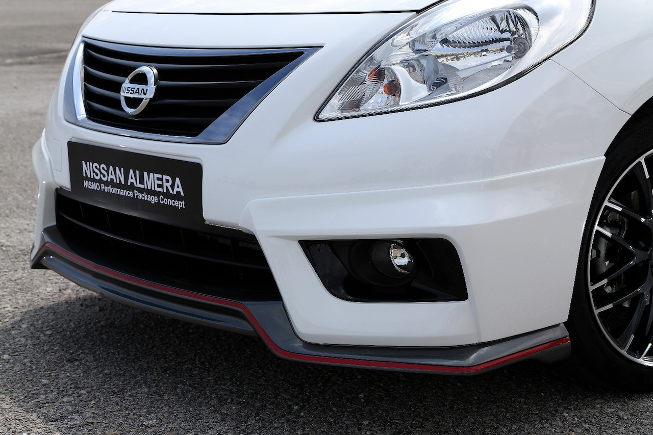 2015 Nissan Maxima For Sale >> Nissan Versa/Sunny Nismo Performance Package Concept Revealed - autoevolution