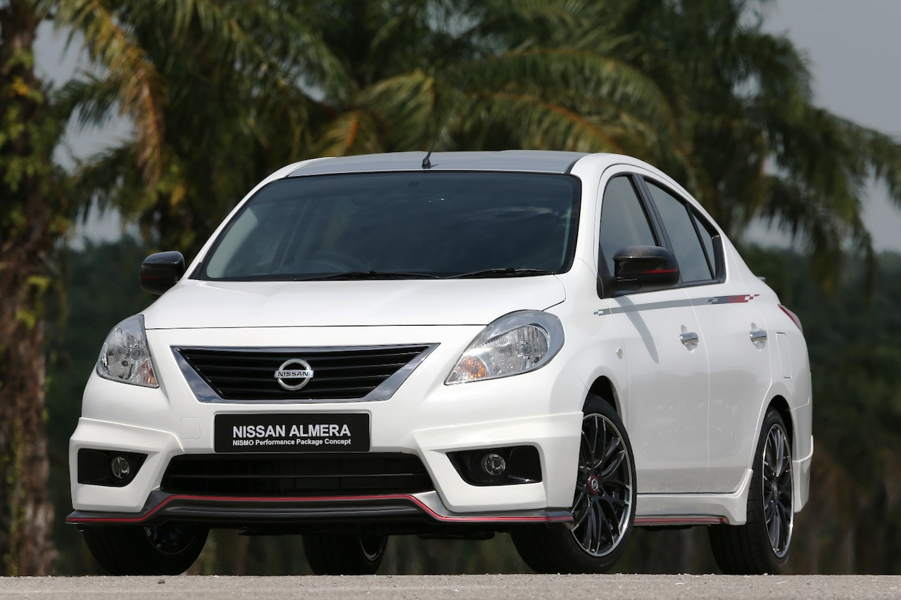 Nissan Versa/Sunny Nismo Performance Package Concept ...