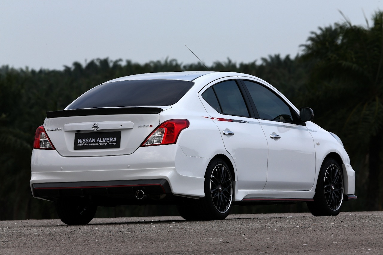 Nissan Versa Sunny Nismo Performance Package Concept