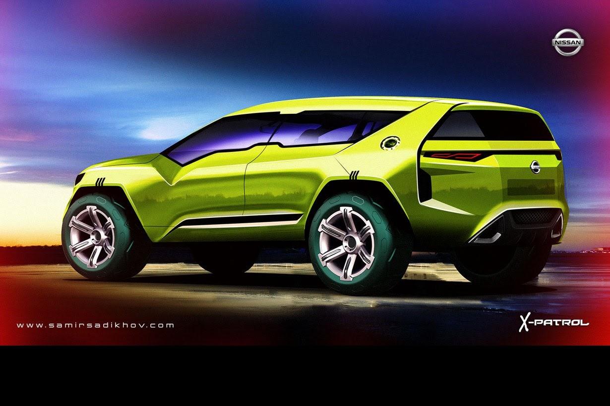 Nissan X-Patrol SUV Envisioned - autoevolution