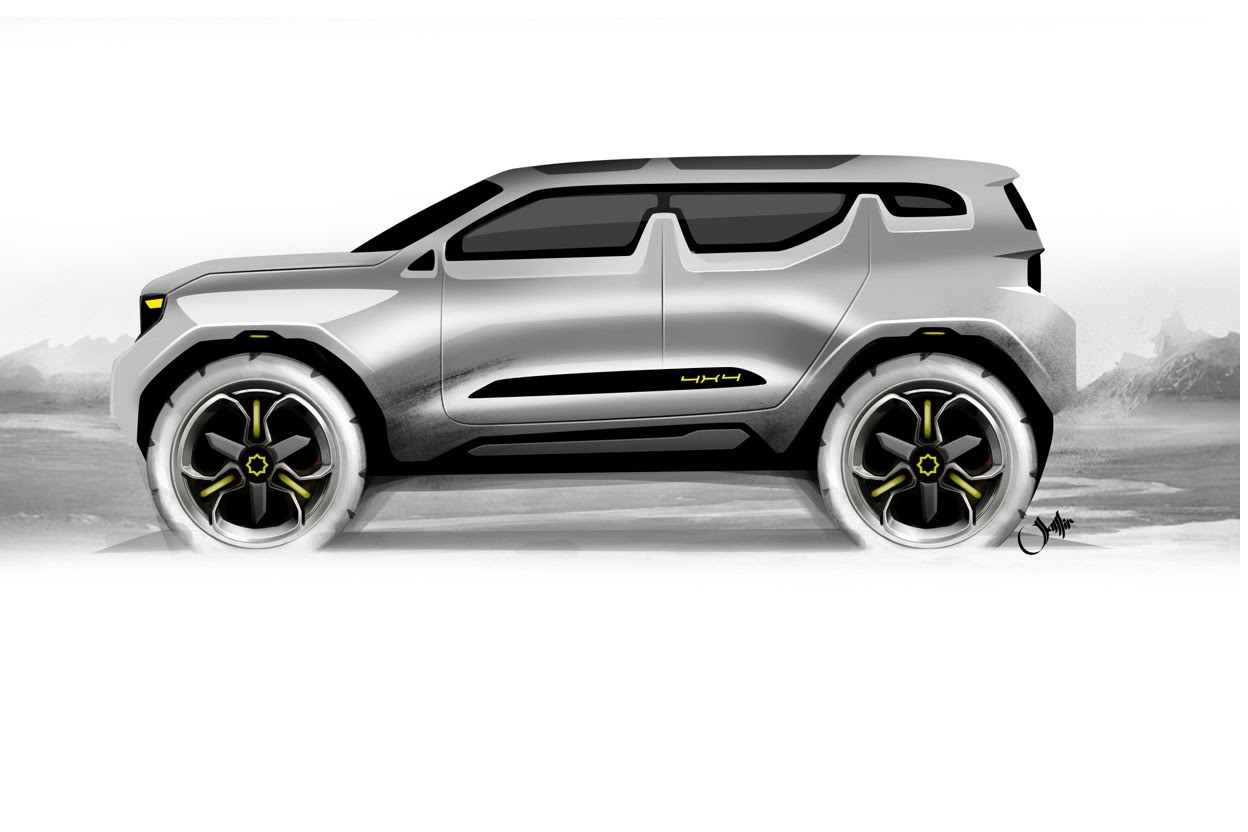 Nissan X Patrol Suv Envisioned Autoevolution
