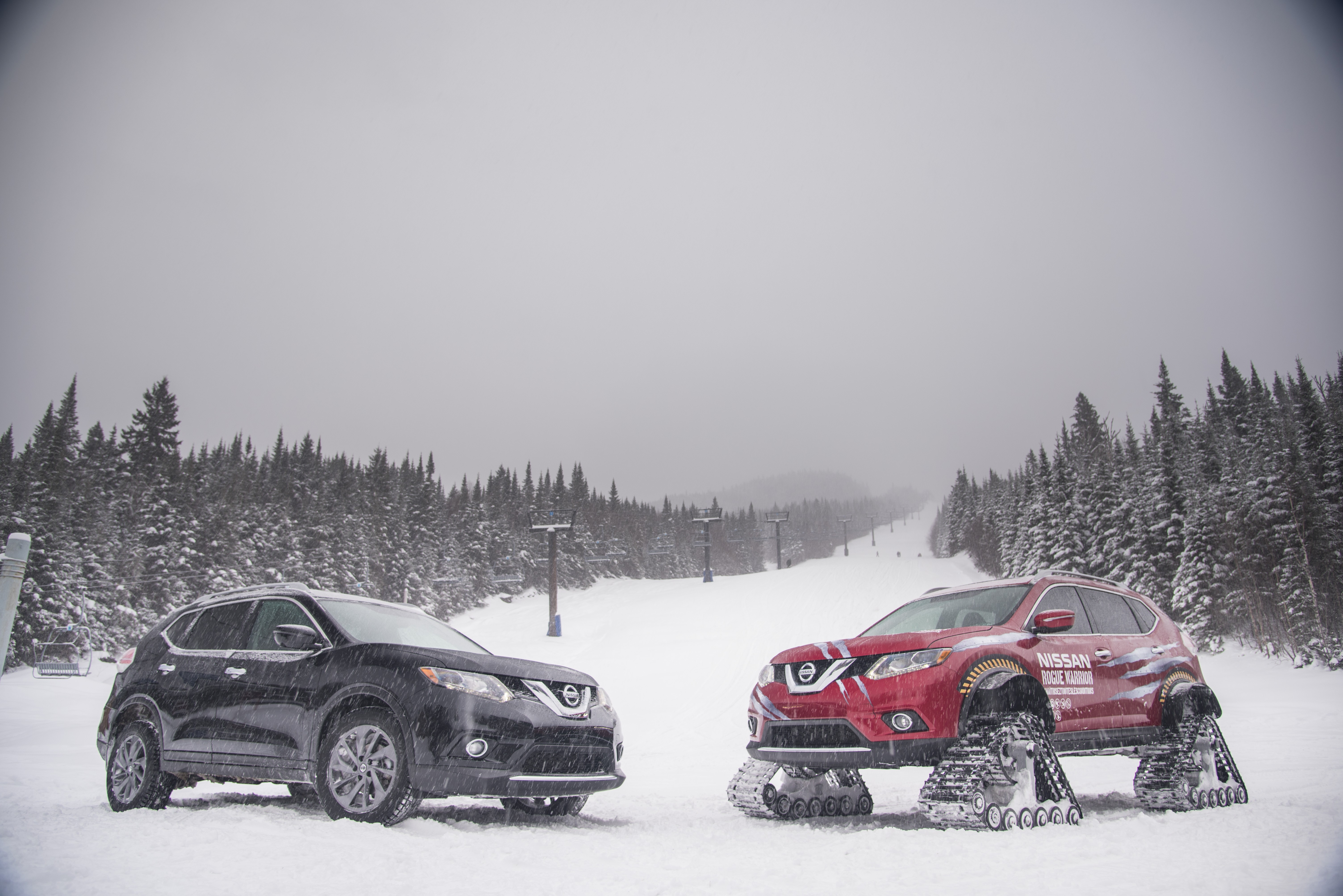 Nissan Of Ames >> Nissan's Rogue Warrior Comes with Heavy-Duty Snow Tracks - autoevolution