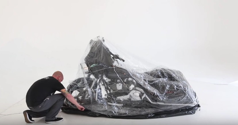 CarCapsule is happy to announce that it was selected as one of the Top Ten New Products of the 2016 American International Expo (AIMExpo). & No Winter Storage For You Bike? Check Out This Inflatable Capsule ...